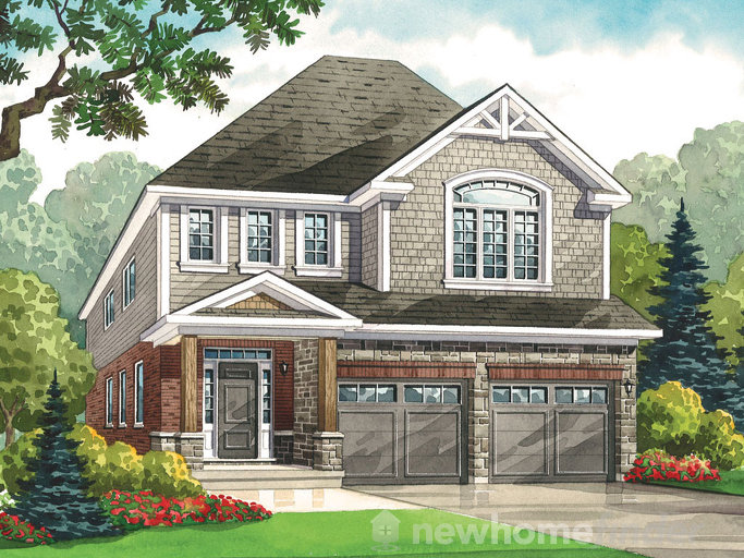 Stone Pine floor plan at Heritage Preserve by Kenmore Homes in Kitchener, Ontario