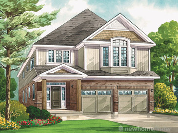 The Norway Pine new home model plan at the Heritage Preserve by Kenmore Homes in Kitchener