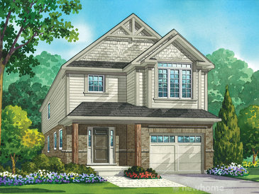 The Silver Maple new home model plan at the Heritage Preserve by Kenmore Homes in Kitchener