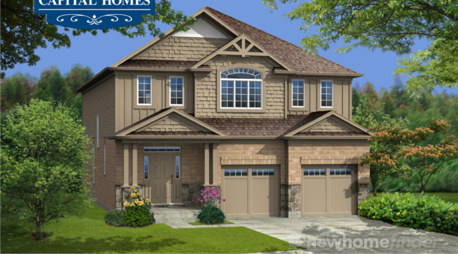 Golden Larch floor plan at New Hamburg Heights by Capital Homes in New Hamburg, Ontario