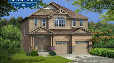 The Golden Larch new home model plan at the New Hamburg Heights by Capital Homes in New Hamburg