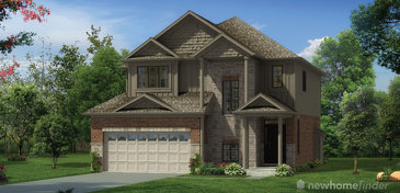 The Green Ash new home model plan at the New Hamburg Heights by Capital Homes in New Hamburg
