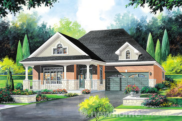 The Chilton Villa new home model plan at the Amber Meadows by Regal Homes in Strathroy