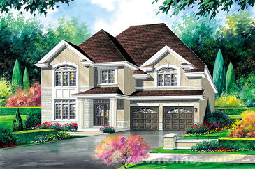 The Everton new home model plan at the Amber Meadows by Regal Homes in Strathroy