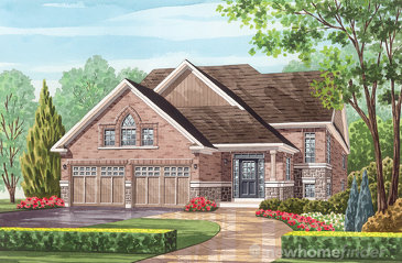The Gould new home model plan at the Havelock Corners by Senator Homes in Woodstock