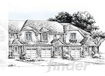 The Juliette 1 new home model plan at the Amour Riverbend by Forest Park Homes in London