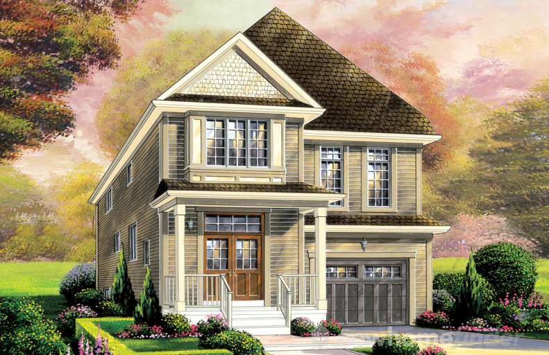 Hampton floor plan at Wyndfield by Empire Communities in Brantford, Ontario