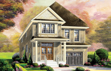 The Hampton new home model plan at the Wyndfield by Empire Communities in Brantford