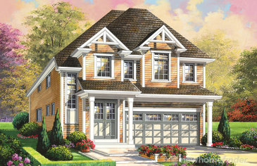 The Bristol new home model plan at the Wyndfield by Empire Communities in Brantford