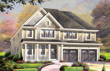 The Brunswick new home model plan at the Wyndfield by Empire Communities in Brantford