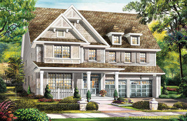 The Hemmingway new home model plan at the Wyndfield by Empire Communities in Brantford