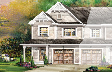 The Chelsea End new home model plan at the Wyndfield by Empire Communities in Brantford
