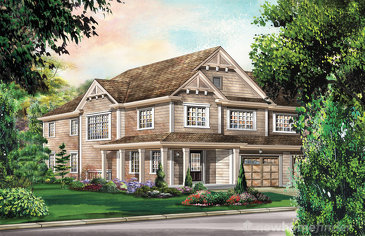 The Chelsea Corner new home model plan at the Wyndfield by Empire Communities in Brantford
