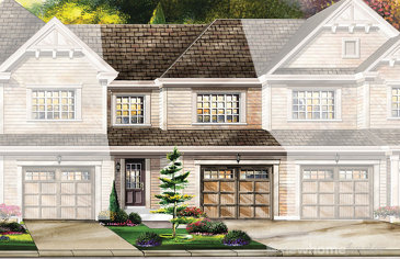 The Cambridge new home model plan at the Wyndfield by Empire Communities in Brantford