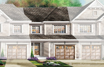 The Primrose new home model plan at the Wyndfield by Empire Communities in Brantford