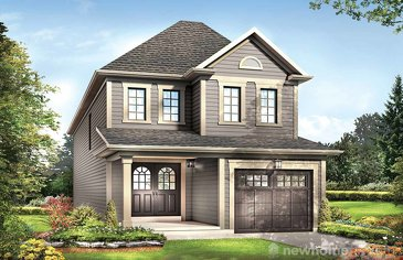The Excalibur new home model plan at the Avalon by Empire Communities in Caledonia