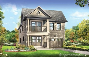 The Tristan new home model plan at the Avalon by Empire Communities in Caledonia