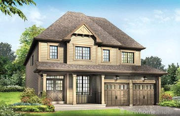 The Pandora new home model plan at the Avalon by Empire Communities in Caledonia