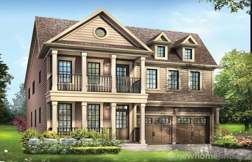 The Featherstone new home model plan at the Avalon by Empire Communities in Caledonia