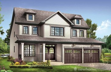 The Fantasia new home model plan at the Avalon by Empire Communities in Caledonia