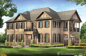The Sunspear Corners new home model plan at the Avalon by Empire Communities in Caledonia