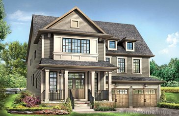 The Narnia new home model plan at the Avalon by Empire Communities in Caledonia