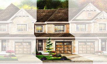 The Cambridge new home model plan at the Avalon by Empire Communities in Caledonia