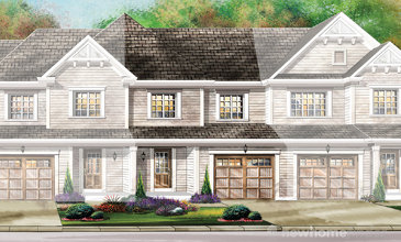 The Darlington new home model plan at the Avalon by Empire Communities in Caledonia