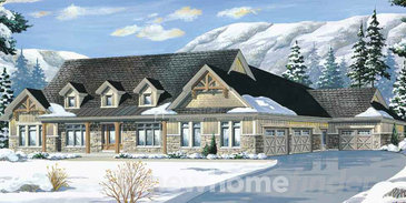 The Adelaide new home model plan at the Windrose Estates by MacPherson Builders in Collingwood