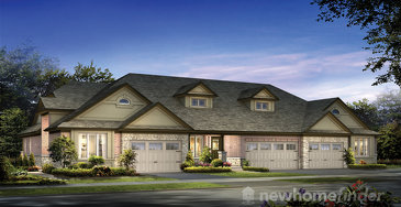 The Tamworth new home model plan at the Westminster Highlands by Reid's Heritage Homes in Fergus