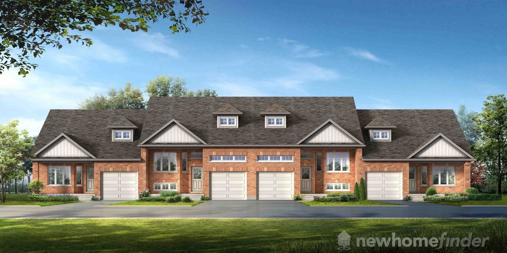 McIntosh floor plan at Gates of Kent by Reid's Heritage Homes in Meaford, Ontario