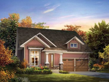 The Thornbury new home model plan at the Lora Bay by Reid's Heritage Homes in Thornbury