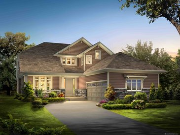 The Nairn new home model plan at the Lora Bay by Reid's Heritage Homes in Thornbury