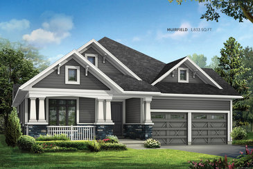 The Muirfield new home model plan at the Trailwoods by Reid's Heritage Homes in Thornbury