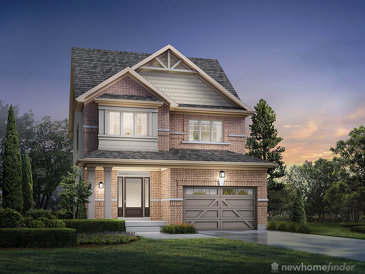 The Clover new home model plan at the Summerfields by Sorbara in Fergus