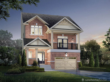 The Lilac new home model plan at the Summerfields by Sorbara in Fergus