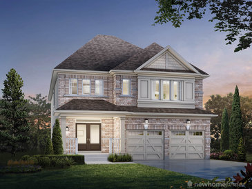 The Trillium new home model plan at the Summerfields by Sorbara in Fergus