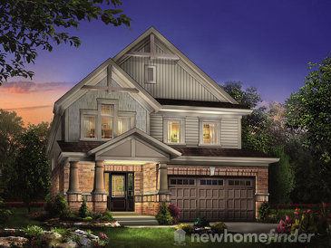 The Water Spruce new home model plan at the Treetops by Sorbara in Alliston