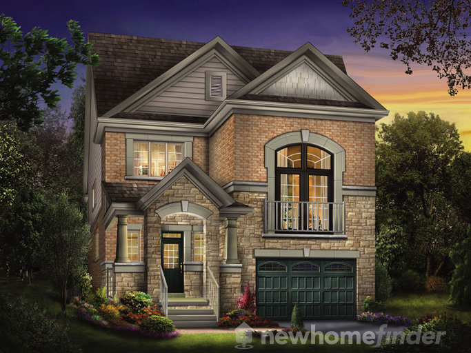Buttonwood floor plan at Treetops by Sorbara in Alliston, Ontario