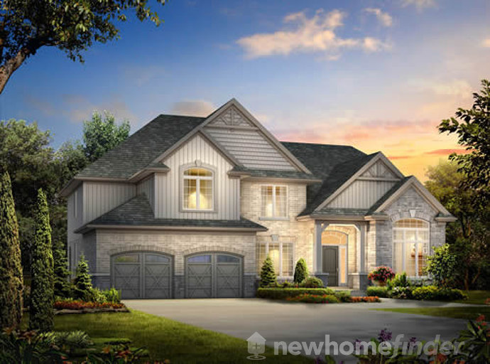 Lot 4 floor plan at Inwood Drive by New LifeStyle Homes in Kitchener, Ontario