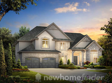 The Lot 4 new home model plan at the Inwood Drive by New LifeStyle Homes in Kitchener