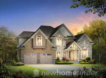 The Lot 3 new home model plan at the Inwood Drive by New LifeStyle Homes in Kitchener