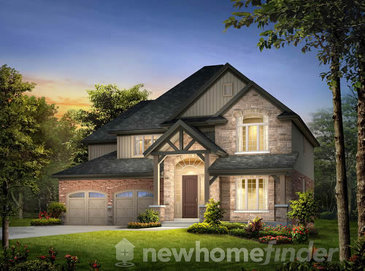The Lot 5 new home model plan at the Inwood Drive by New LifeStyle Homes in Kitchener