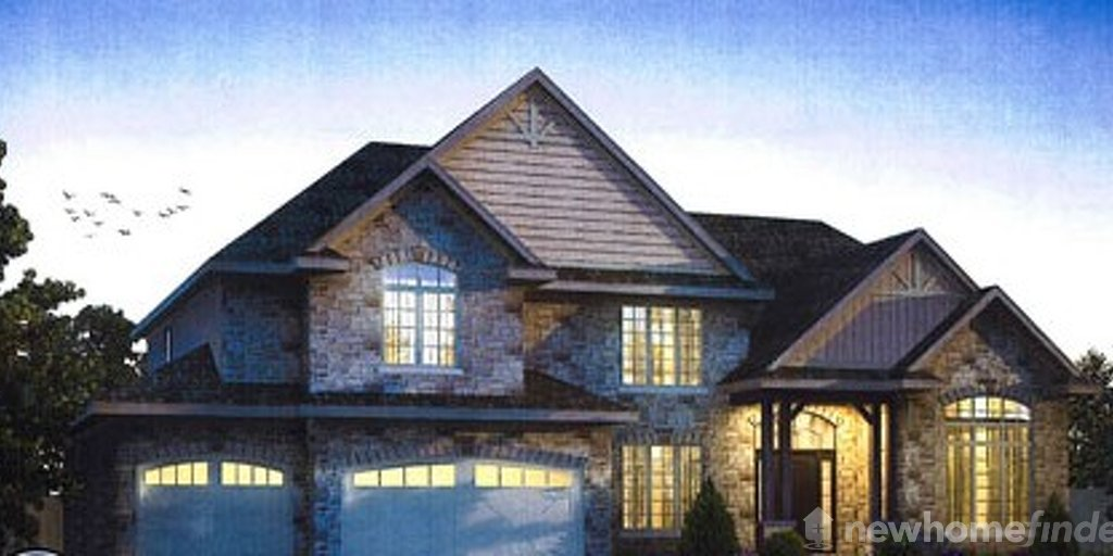 Lot 7 floor plan at Regal Place by New LifeStyle Homes in Waterloo, Ontario