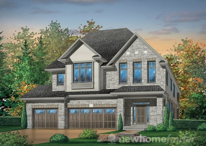 Fieldgate floor plan at Huron Village by Hawksview Homes in Kitchener, Ontario