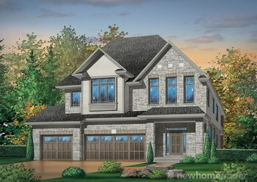 The Fieldgate new home model plan at the Huron Village by Hawksview Homes in Kitchener