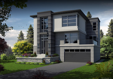 The Quartet new home model plan at the The Ontario Street Quartet by Haastown in Vaughan