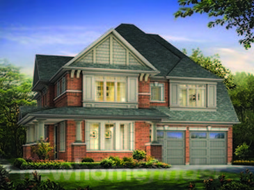The Aspenwood Corner new home model plan at the Hillsborough by Andrin Homes in  East Gwillimbury
