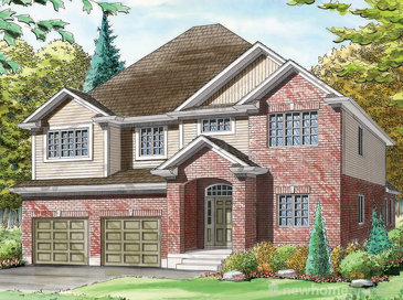 The Schiefele new home model plan at the Avon West by Bromberg Homes in Stratford