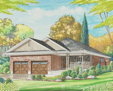 The Morenz new home model plan at the Avon West by Bromberg Homes in Stratford